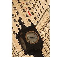 Downtown Time ©  Photographic Print