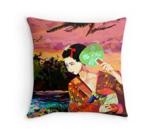 Kitsune Throw Pillow