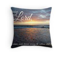 Proclaim His Name  Throw Pillow