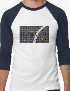 Romulan Neutral Zone Men's Baseball ¾ T-Shirt