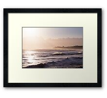 Sandsend Beach Framed Print