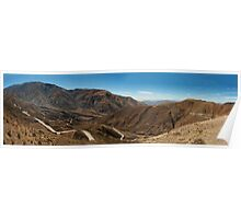 Long and Winding Road - Panorama Poster