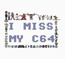 I miss my C64 One Piece - Long Sleeve