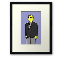 Carson - the Butler - Downton Abbey Framed Print