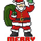 Merry Santa - V:IPixels Holiday Collection by Victor  Dandridge