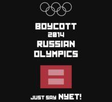Boycott 2014 Russian Olympics #1 by Samuel Sheats