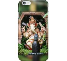 Colored Ganesh iPhone Case/Skin