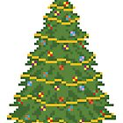 Christmas Tree - V:IPixels Holiday Collection by Victor  Dandridge