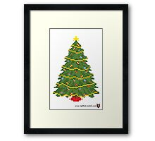 Christmas Tree - V:IPixels Holiday Collection Framed Print