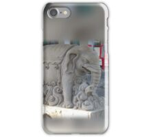 Elephant Statue iPhone Case/Skin