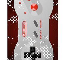 Vintage Nintendo Controller Case by BrillianceLies