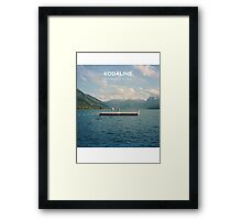 Kodaline Album Cover (In A Perfect World) Framed Print