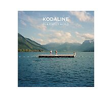 Kodaline Album Cover (In A Perfect World) Photographic Print