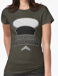 HIMYM - Corporal Punishment (Dark) Womens Fitted T-Shirt