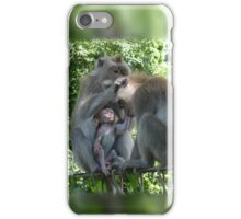 Monkeys that Groom Together, Stay Together iPhone Case/Skin