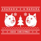 Doge Christmas Ugly Sweater by protos