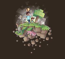 """Falling MineCraft World"" Unisex T-Shirt"
