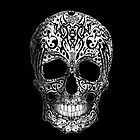 Tribal Skull by TinaGraphics