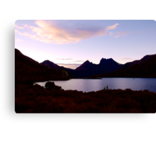 Dawn Reflections at Dove Lake, Cradle Mountain Canvas Print