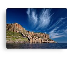 The medieval castletown of Monemvasia Canvas Print