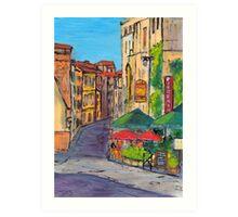 Près de l'arène Romaine, Arles Art Print