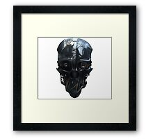 Dishonored Mask Framed Print
