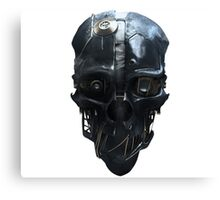 Dishonored Mask Canvas Print