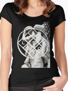 We Exist Women's Fitted Scoop T-Shirt