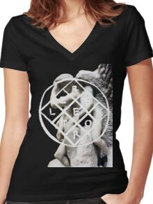 We Exist Women's Fitted V-Neck T-Shirt
