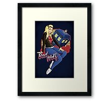 The Bad Wolf - Print Framed Print