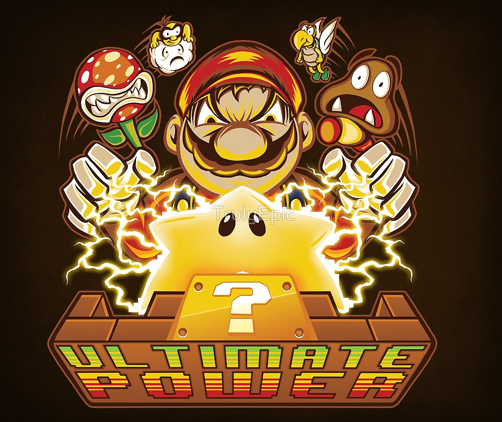 Ultimate Power - Print by TrulyEpic