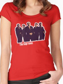 THE SOPRANOS Women's Fitted Scoop T-Shirt