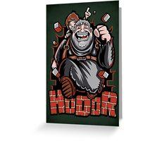 The Incredible Hodor - Print Greeting Card