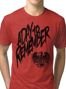 A Day To Remember  Tri-blend T-Shirt