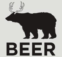 Beer : A Bear Deer by rbrayzer