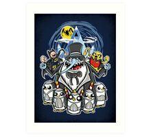 Penguin Time - Print Art Print