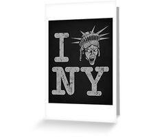 Angels love NY - Print Greeting Card