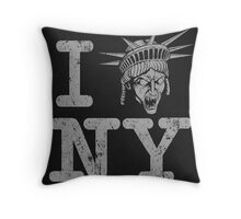 Angels love NY - Print Throw Pillow