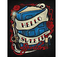 Hello Sweetie - Print Photographic Print