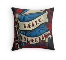Hello Sweetie - Print Throw Pillow