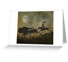 Night Hunter Greeting Card