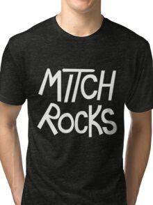 MITCH ROCKS - Powerpuff Girls Tri-blend T-Shirt