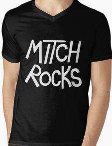 MITCH ROCKS - Powerpuff Girls Mens V-Neck T-Shirt