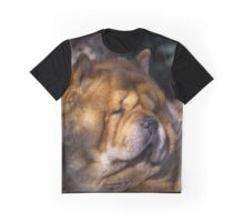 Chow portrait Graphic T-Shirt