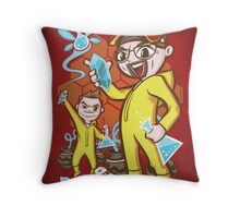 The Legend of Heisenberg - Print Throw Pillow