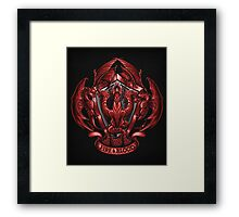 Fire and Blood - Print Framed Print
