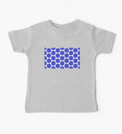 Blue Polka Dot (King of the Mountains) Baby Tee