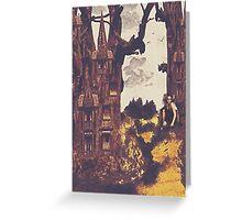 Dollhouse Forest Fantasy Greeting Card