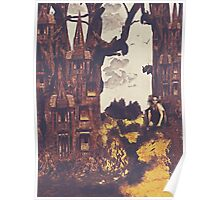 Dollhouse Forest Fantasy Poster