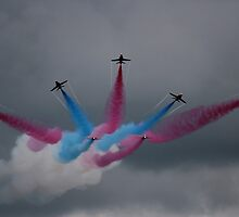 Red Arrows Grand Finale by DKMdesign